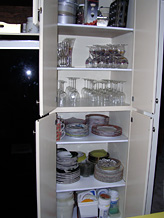 Updating kitchen storge